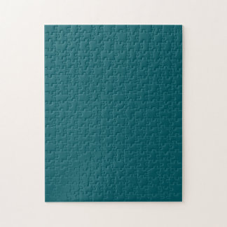 Puzzle with Dark Teal Green Background