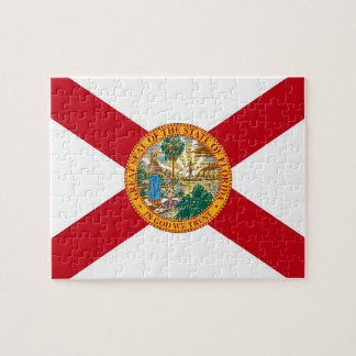 Puzzle with Flag of Florida State