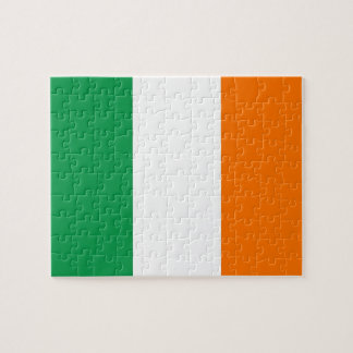 Puzzle with Flag of Ireland