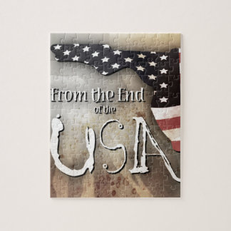 Puzzle with From the End of the USA logo.
