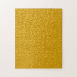 Puzzle with Golden Yellow Background