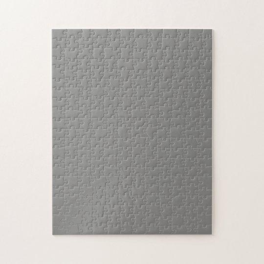 Puzzle with Medium Gray Background