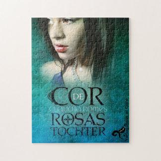 "Puzzle with motive for cover ""Cor de Rosas daughte"