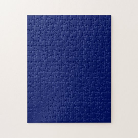Puzzle with  Navy Blue Background
