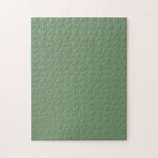 Puzzle with Pastel Sage Gree Background