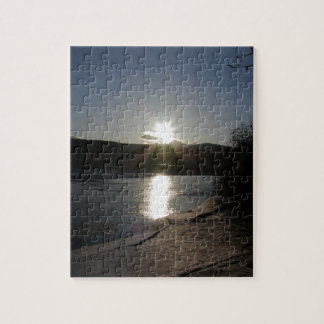 puzzle with photo of Yukon River