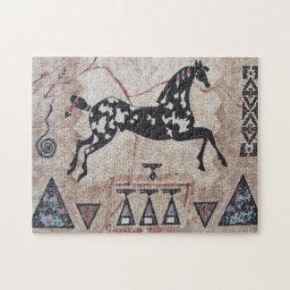 Puzzle--Woven Pony Puzzle