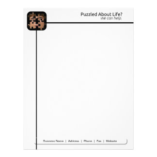 Puzzled About Life Letterhead