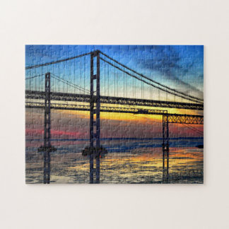 Puzzled About the Chesapeake Bay Bridge Jigsaw Puzzle
