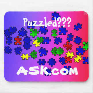 Puzzled???  ASK.com mousepad