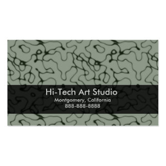 Puzzled Double-Sided Standard Business Cards (Pack Of 100)