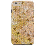 Puzzled Butterflies And Daisies Tough iPhone 6 Plus Case
