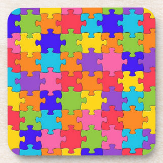 Puzzled Collection Beverage Coaster
