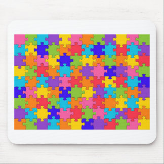 Puzzled Collection Mouse Pad