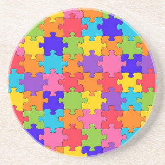Puzzled Collection Sandstone Coaster