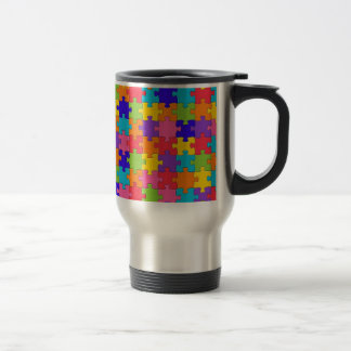 Puzzled Collection Travel Mug