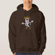 Puzzled Cow Hoodie