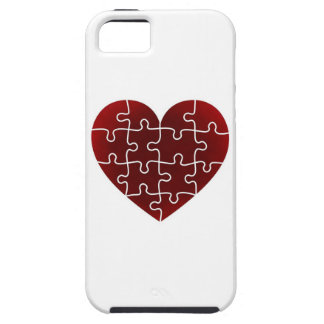 Puzzled Hearts iPhone 5 Case