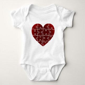 Puzzled Hearts Tshirts