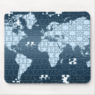 Puzzled! Mouse Pad