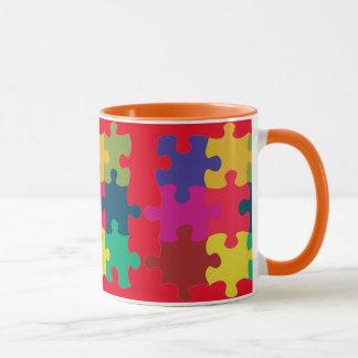 Puzzled Mug