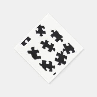 Puzzled Napkin