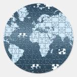 Puzzled! Sticker