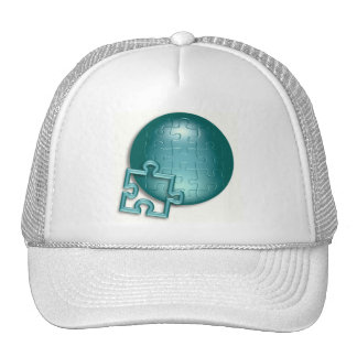 Puzzled World Baseball Hat