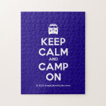 [Campervan] keep calm and camp on  Puzzles