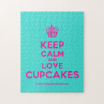 [Cupcake] keep calm and love cupcakes  Puzzles