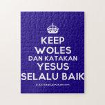 [Crown] keep woles dan katakan yesus selalu baik  Puzzles