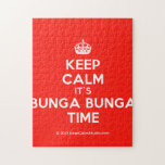 [Crown] keep calm it's bunga bunga time  Puzzles