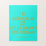 [Cupcake] keepcalm and eat little baby's ice cream  Puzzles