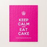 [Cupcake] keep calm and eat cake  Puzzles