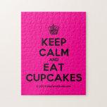 [Cupcake] keep calm and eat cupcakes  Puzzles
