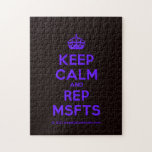 [Crown] keep calm and rep msfts  Puzzles