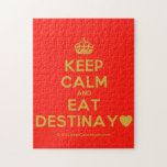 [Crown] keep calm and eat destinay♥  Puzzles