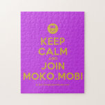 [Smile] keep calm and join moko.mobi  Puzzles