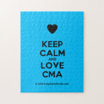[Love heart] keep calm and love cma  Puzzles