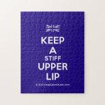 [UK Flag] keep a stiff upper lip  Puzzles