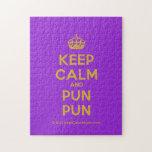 [Crown] keep calm and pun pun  Puzzles