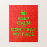 [Cutlery and plate] keep calm and don't eat my face  Puzzles