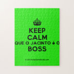[Crown] keep calm que o jacinto é o boss  Puzzles