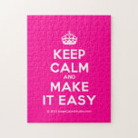 [Crown] keep calm and make it easy  Puzzles