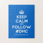 [Crown] keep calm and follow #dhc  Puzzles