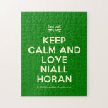 [UK Flag] keep calm and love niall horan  Puzzles