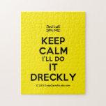 [UK Flag] keep calm i'll do it dreckly  Puzzles