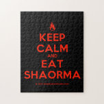 [Campfire] keep calm and eat shaorma  Puzzles
