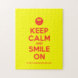 [Smile] keep calm and smile on  Puzzles