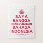 [Crown] saya bangga menggunakan bahasa indonesia  Puzzles